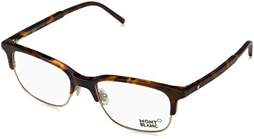 MONTBLANC Eyeglasses MB0552 052 Dark Havana 53MM