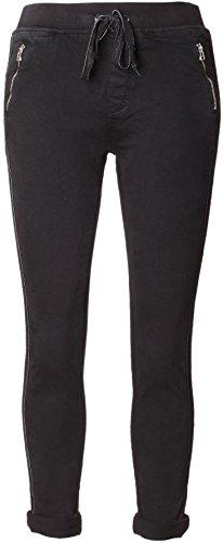 Pantalon joggeurs BASIC Schwarz Femme de de Jogging Survtement 74Y45p