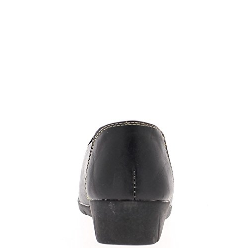 Chaussures Femme Chaussmoi Noir Confort Avec Élastique Haut
