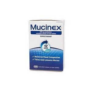 Mucinex Extended-Release Bi-Layer 600 mg Tablets (Packaging varies - 300 count)