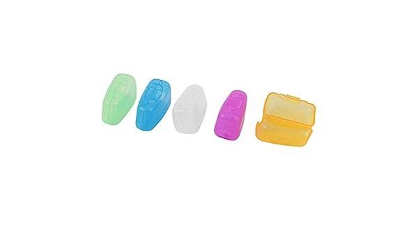 Amazon.com: Cubierta de la cabeza del cepillo de dientes de viaje funda protectora del Protector 5pcs Tapas de las escobillas: Health & Personal Care