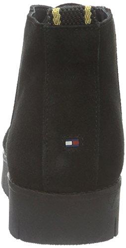 Tommy 990 Black Nero Leggera Bassi 3b Imbottitura Hilfiger con Stivali Donna W1285indsor Nero U7qUrp