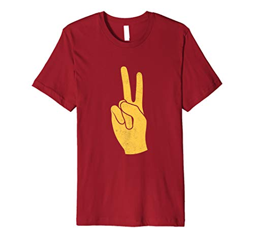 (Southern California Victory Hand Sign Premium T-Shirt)
