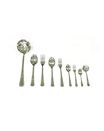 Genérico - Juego 12 tenedor lunch modelo 901 perlino magefesa: Amazon.es: Hogar