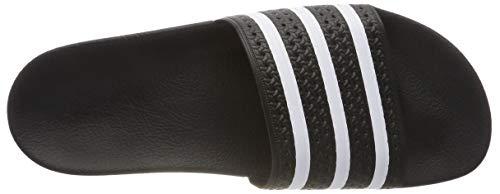 blanc Adilette Unisex Adidas Ciabatte Adulto noir Noir – 7YfwBfq
