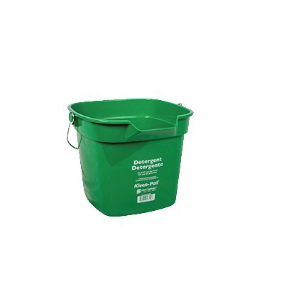 een-Pail Commercial Cleaning Bucket, 10 Quart, Green (10 Qt Plastic Pail)