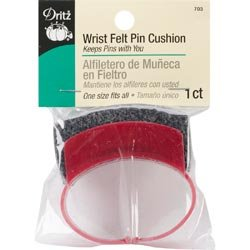 - Dritz Bulk Buy Wrist Felt Pincushion One Size Fits All 703 (3 Pack)