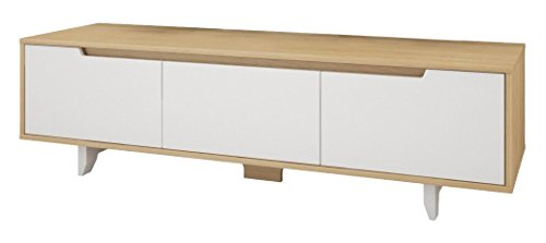 Maple Modern Tv Stand - 1