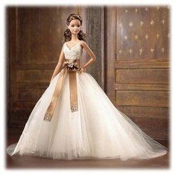 Barbie Designer Collection - Monique Lhuillier Bride Collectible Barbie Doll