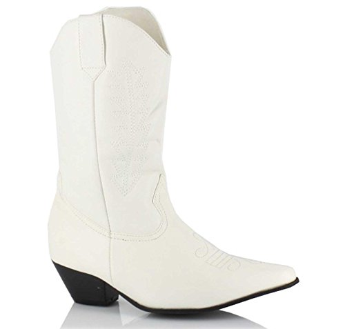 Ellie Shoes - Child Girl - Rodeo (White) Child Boots (Girl - Child Small 11/12) - Small ()