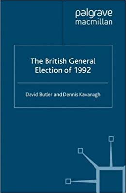 The British General Election of 1992 (Nuffield Studies)