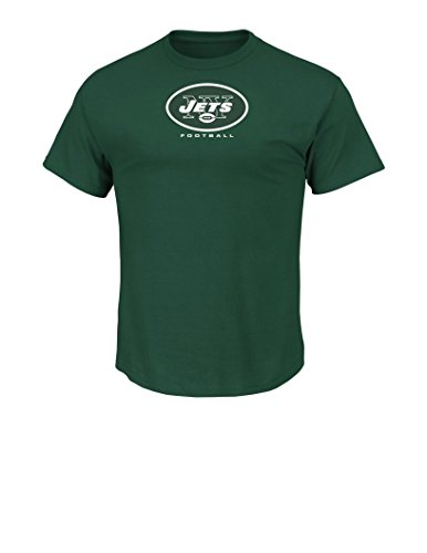 NFL New York Jets Men's UP4 Tee, Inexperienced, Large – Sports Center Store