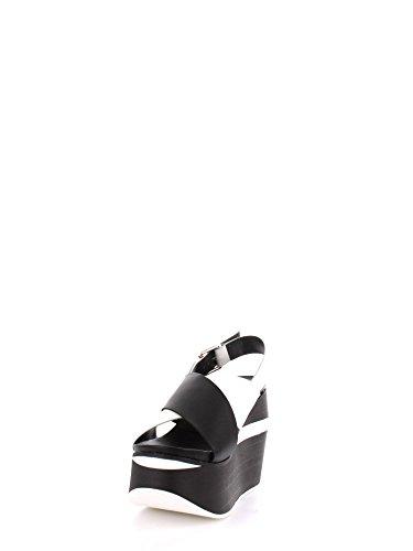 Cult - Sandalias de vestir para mujer Black/White