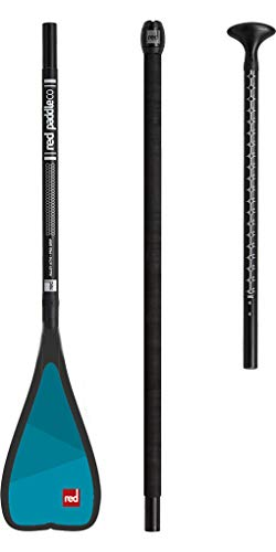 RED Paddle 2018 Co Midi Alloy 3-Piece Paddle Black 160CM-200CM by RED Paddle