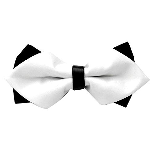 Unisex Fashion Bowtie,Serzul Men&Women Satin Adjustable Necktie for Tuxedo Wedding Party Feast Business Multicolors