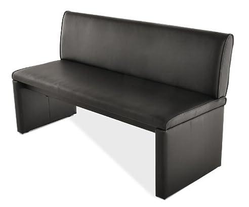 sam esszimmer sitzbank family smith in schwarz 200 cm breite sitzbank mit pflegeleichtem - Sitzbank Esszimmer Schwarz
