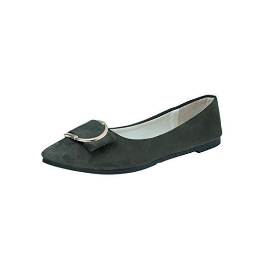 Clearance Women Shoes COPPEN❤️ Women's Pumps Suede Belt