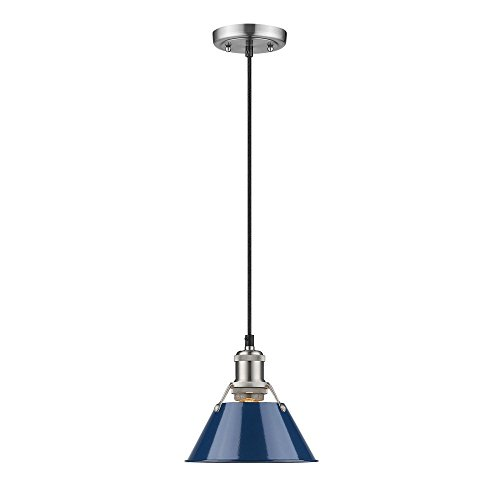 Navy Blue Pendant Light in Florida - 3
