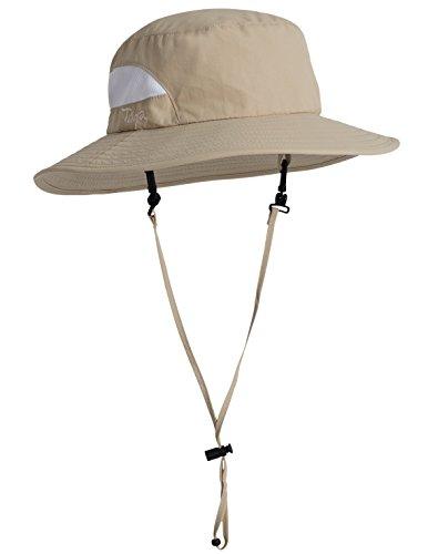 Tuga Adult UPF 50+ Playa Bucket Hat, Tan, Adult Medium