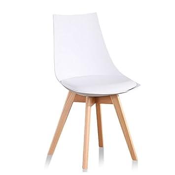 Designetsamaison Chaise Scandinave Blanche