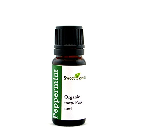 Premium Organic Peppermint Essential Oil | Imported From France - 100% Pure | Undiluted Therapeutic Grade | Aromatherapy | Perfect for Diffusers | Mentha Piperita (10ml) -
