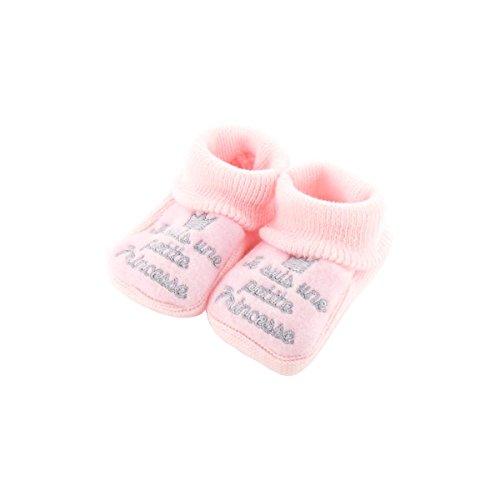 Babyschuhe 0-3 Monate Pink - Ich bin eine kleine Prinzessin