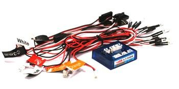 (Integy RC Hobby C23455 Type II G.T. Power Complete LED Light Kit w/ Control Box Module)