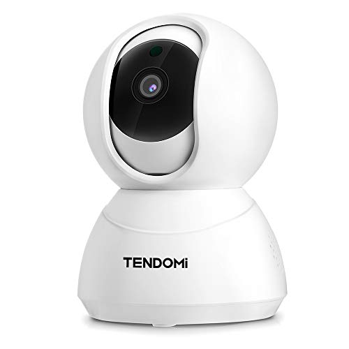 TENDOMI 1080P FHD IP Camera- Wireless Security Camera, Indoor WiFi Camera with PTZ, Motion Detection, Night Vision, 2-Way Audio, 2.4Ghz WiFi Home Dome Camera for Baby/Pet/Elder with Android/iOS App For Sale