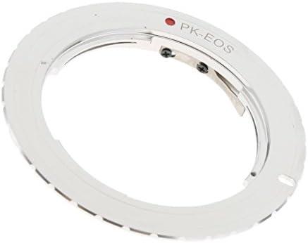 Pentax K PKマウントレンズ→EOSカメラ 電子レンズアダプターリング