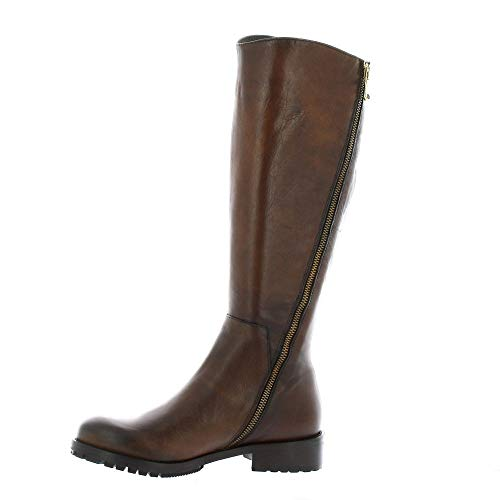 Pao Pao Bottes Cuir Bottes Cognac f747B