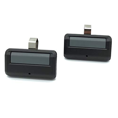 Gate1Access Compatible 2 Pack Garage Door 891LM 893LM 950ESTD 953ESTDRemote Control with Yellow Learn Button Liftmaster Chamberlain Craftsman MyQ Security + 2.0