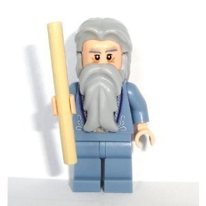Lego Harry Potter 2010 Mini Figure - Dumbledore with Wand