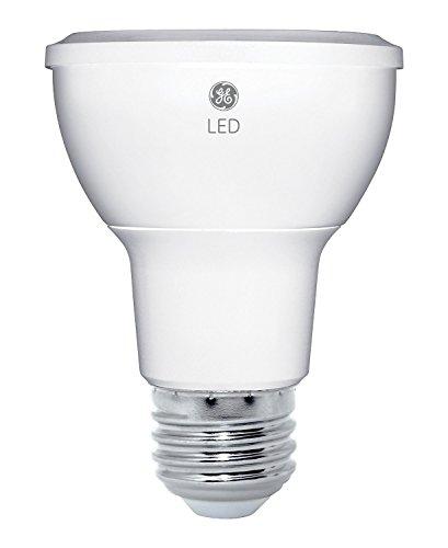 GE Lighting 33851 Energy-Smart LED 7-watt, 470-Lumen R20 Bulb with Medium Base, Soft White, 1-Pack