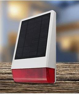 MT Vision Solar Outdoor Sirene OSS-100 Außensirene