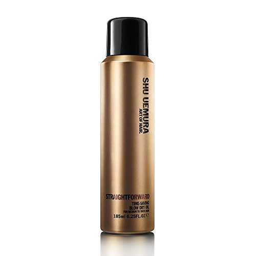 Shu Uemura Straightforward Time Saving B low Dry Oil 6.2 oz
