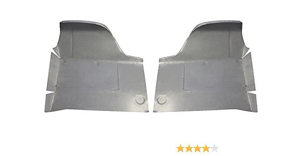 Motor City Sheet Metal Works With REAR FLOOR PANS FORD GALAXIE MERCURY METEOR 1961 62 NEW PAIR!!