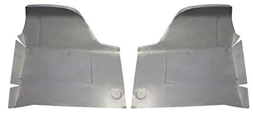 Seat Pan Rear - Motor City Sheet Metal - Works With 1963 1964 FORD GALAXIE MERCURY UNDER REAR SEAT FLOOR PAN PAIR NEW