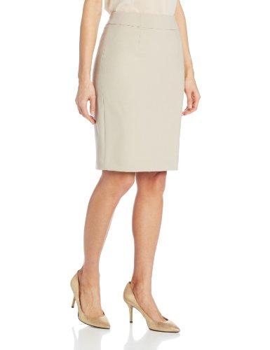 - Calvin Klein Women's Straight Fit Suit Skirt, Khaki, 4