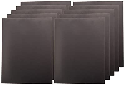 "10 Magnetic Sheets of 8"" x 10"" Adhesive 20 mil Magnet"
