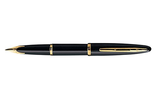Waterman Carene Black Medium Point Fountain Pen - 11105W3
