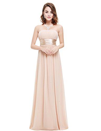 Ever-Pretty Womens Simple Empire Waist Bridesmaid Dress 4 US - Waist Gown Chiffon