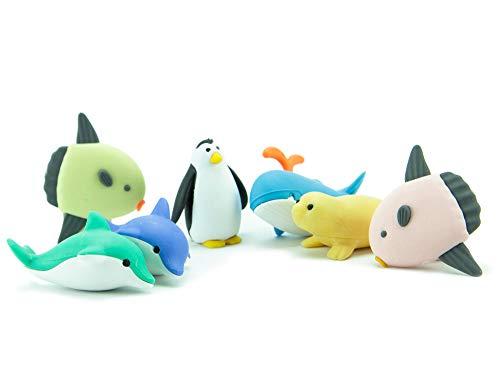 Iwako Japanese Eraser - Sea Life (Penguins Erasers)