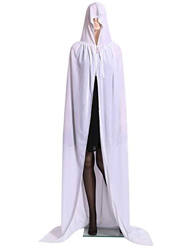 KAMA BRIDAL Hooded Halloween Cloak Costume for Men
