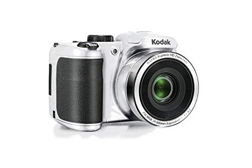 (Kodak PIXPRO Astro Zoom AZ252-WH 16MP Digital Camera with 25X Optical Zoom and 3
