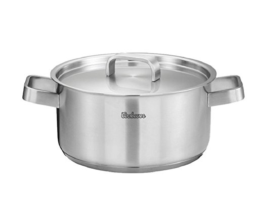 Cookever COOK304 Premium Cookware Non Stick Stainless Steel Multi Pot 9.5 Inch