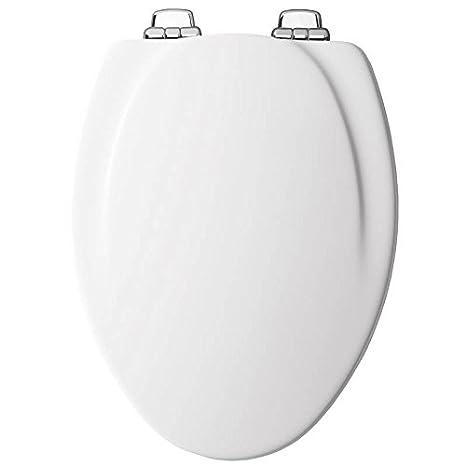 Amazon Elongated Toilet Seat.Mayfair Elongated Toilet Seat Elongated Molded Durable Multi Coat Enamel White Chrome Hinges