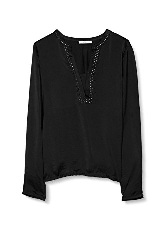 edc by Esprit 116cc1f009, Blusa para Mujer Negro (black 001)