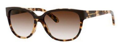 Kate Spade Women's Brigis Cat-Eye Sunglasses,Camel Tortoise,55 mm 31DaLhTuyxL