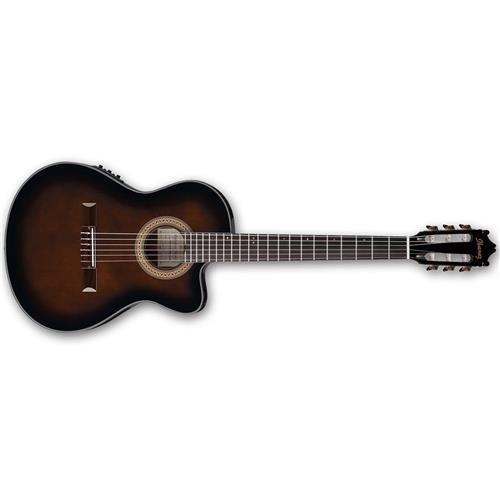 Ibanez GA35TCEDVS Acoustic/Electric Guitar - Dark Violin