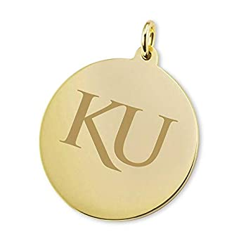Image of Charms M. LA HART University of Kansas 18K Gold Charm